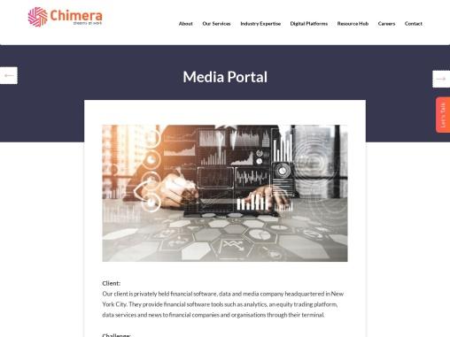 Custom Development and Integration for Media Portal