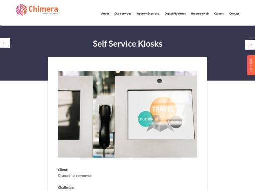 Hospitality Kiosk for Display Digital Advertisement