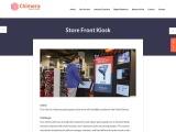 Kiosk Application for Sports Goods Store Front
