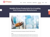 Mobile App Solution for A Leading Auto Components Manufacturer