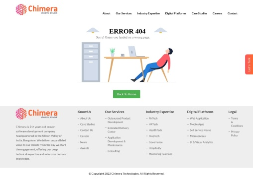 Healthcare App Development Company in India – Chimera Technologies