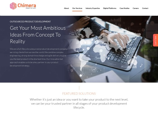 Product Development Companies in India – Chimera Technologies