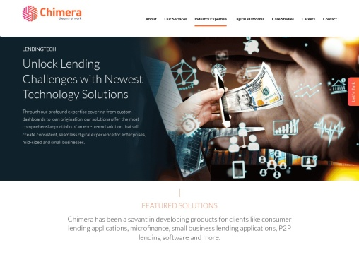 Lending Software Solutions – Chimera Technologies
