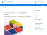 Some knowledge about notebook printing