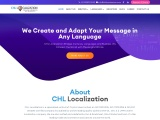 CHL Localization is an ISO certified leading Translation, Subtitling, Transcription and Localization