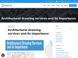 Architectural CAD drawing services and its importance