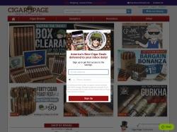 CigarPage screenshot
