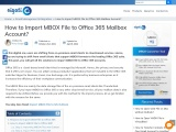Are you excited to learn how Import MBOX File to an Office 365 Mailbox?