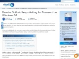 Best Practice to Resolve Outlook Keeps Asking for Password Issue