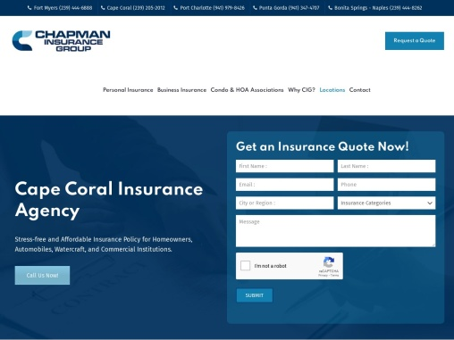 Cape Coral Insurance Agency For Home, Auto & Commercial Businesses