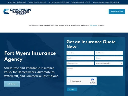 Fort Myers Insurance Agency For Home, Auto & Commercial Businesses