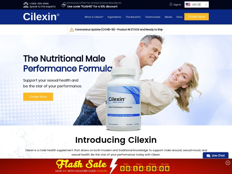 Cilexin screenshot