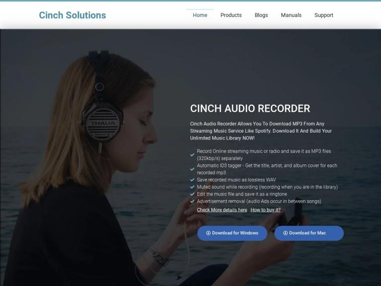 Cinch Audio Recorder Coupons & Discounts March 2021 screenshot