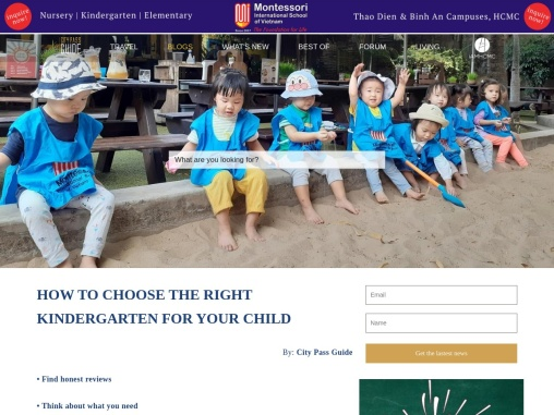 HOW TO CHOOSE THE RIGHT KINDERGARTEN FOR YOUR CHILD