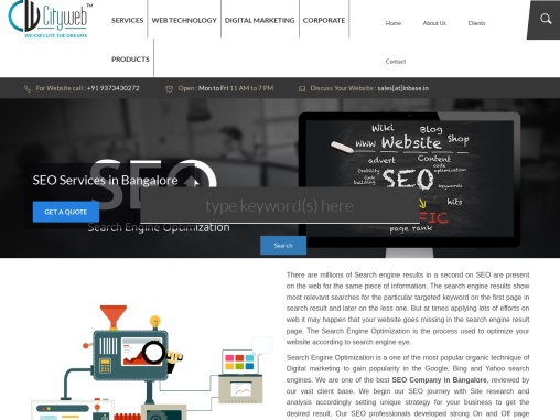 Best SEO services company in Bangalore