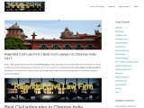 Top Civil Advocates in Chennai | Best Lawyers for Civil cases 24/7 | Rajendra Civil Law Firm
