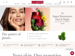 Clarins (Global) screenshot