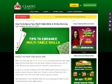 How to Enhance Your Multi-Table Skills in Online Rummy
