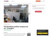 Find Aluminium partition company near me – Tarunaglass
