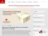 Get Custom Bakery Boxes Wholesale