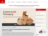 Kraft packaging give the new look to your packaging products