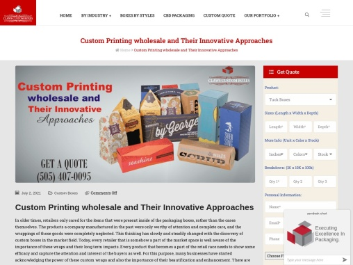Get Printing Wholesale Boxes for your products