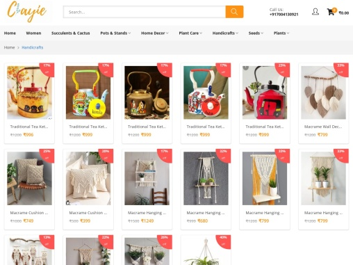 Buy Handicrafts Online   Buy Handcrafted Gifts & Décor Items- Clayie.com