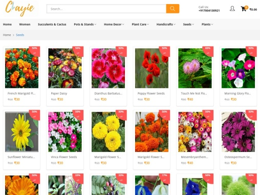 Buy Seeds Online In India | Vegetable Seeds Online India- Clayie.com