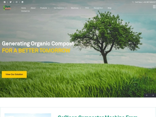 organic waste recycling machine