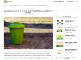 WASTE MANAGEMENT SOLUTIONS AND ITS TECHNIQUES