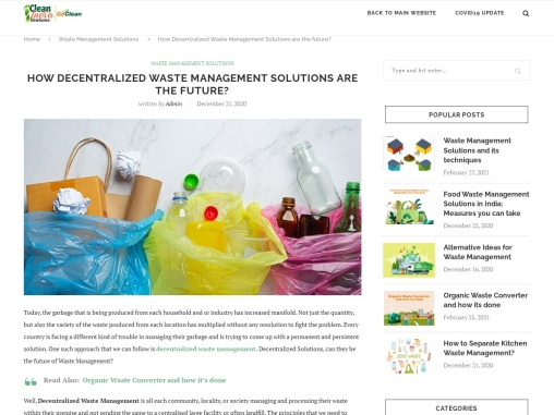 HOW  DECENTRALIZED WASTE MANAGEMENT IS THE FUTURE?