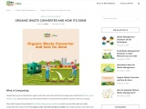 ORGANIC WASTE CONVERTER AND HOW ITS DONE