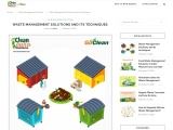 WASTE MANAGEMENT SOLUTIONS AND ITS TECHNIQUESOrganic waste converter