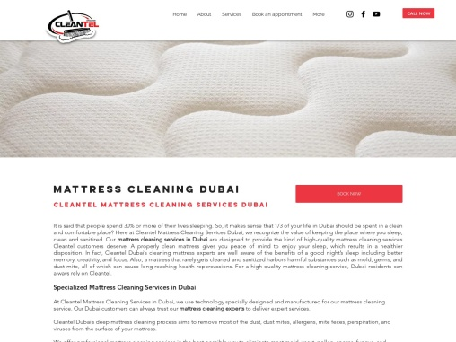 Mattress Cleaning Dubai | Best Mattress Cleaning Services Company In Dubai