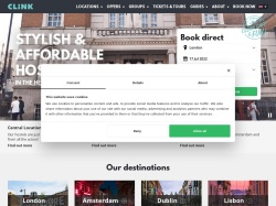 Clink Hostels screenshot
