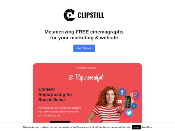 Clipstill  - 15 Best Websites to Download Free Stock Footage (2020)