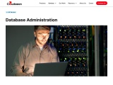 Database administrators are always in demand, especially as the amount of data collected by the comp