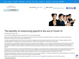 The Benefits of Outsourcing Payroll in the Era of Covid-19