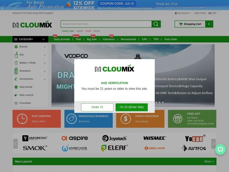 Cloumix Coupon Codes