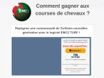 LOGICIEL EMC2TURF 3 MOIS - 1001 FACONS DE GAGNER