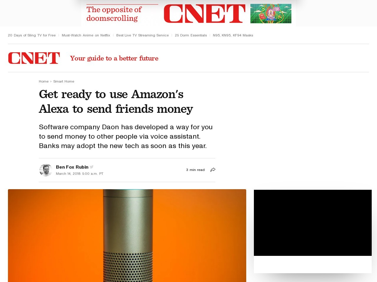 Get ready to use Amazon's Alexa to send friends money     – CNET