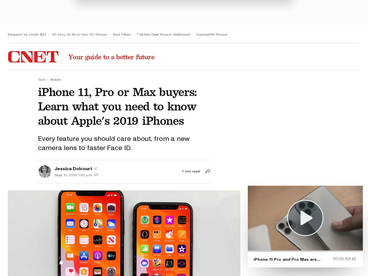 iPhone 11 rumors: Price, specs, features and everything else we know     – CNET