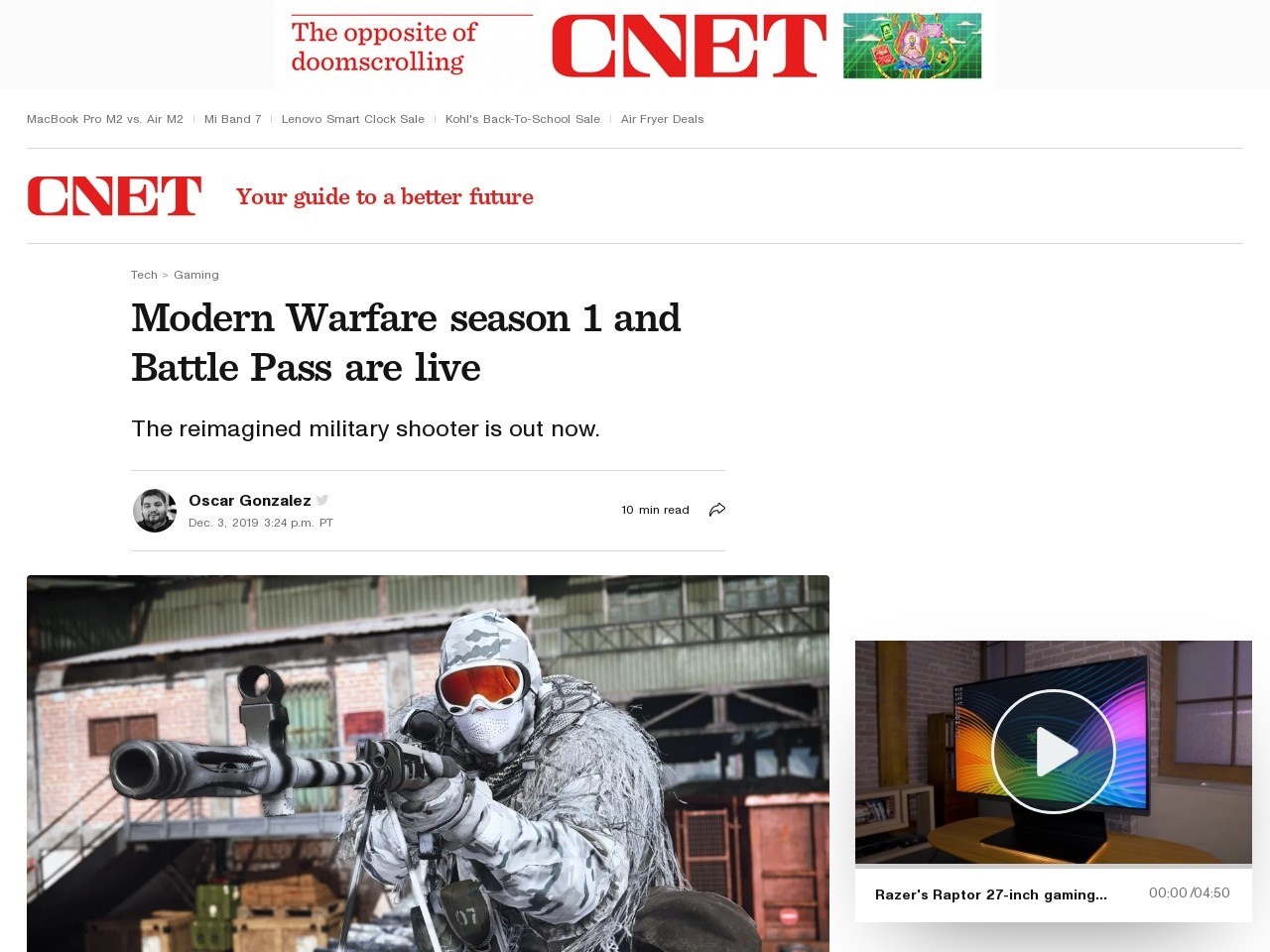 Modern Warfare Spec Ops exclusive, campaign trailer and everything else we know     – CNET