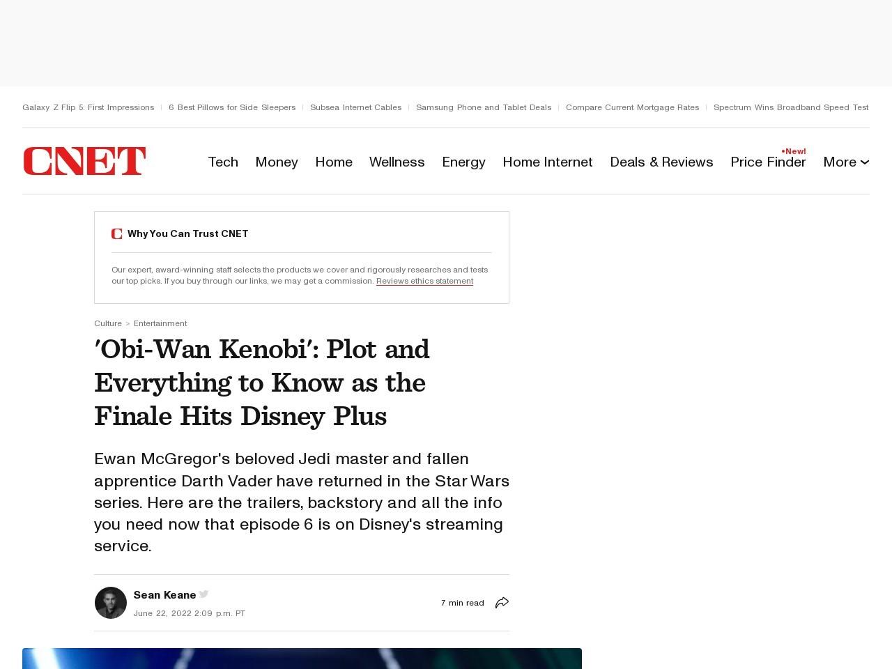 Star Wars on Disney Plus: Everything we know about the Obi-Wan Kenobi TV show     – CNET