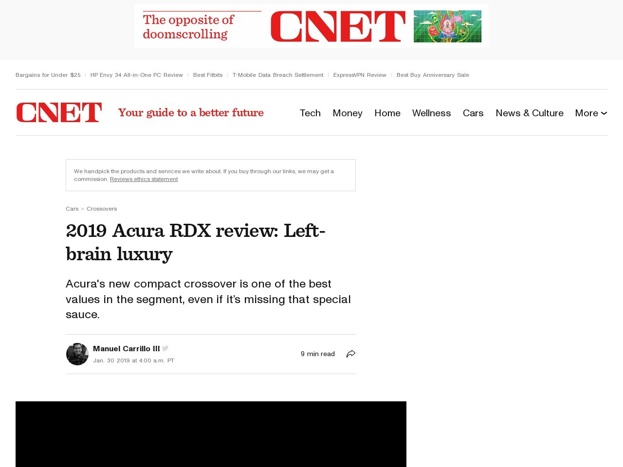 2019 Acura RDX First Drive Review: Third-gen's a charm     – Roadshow