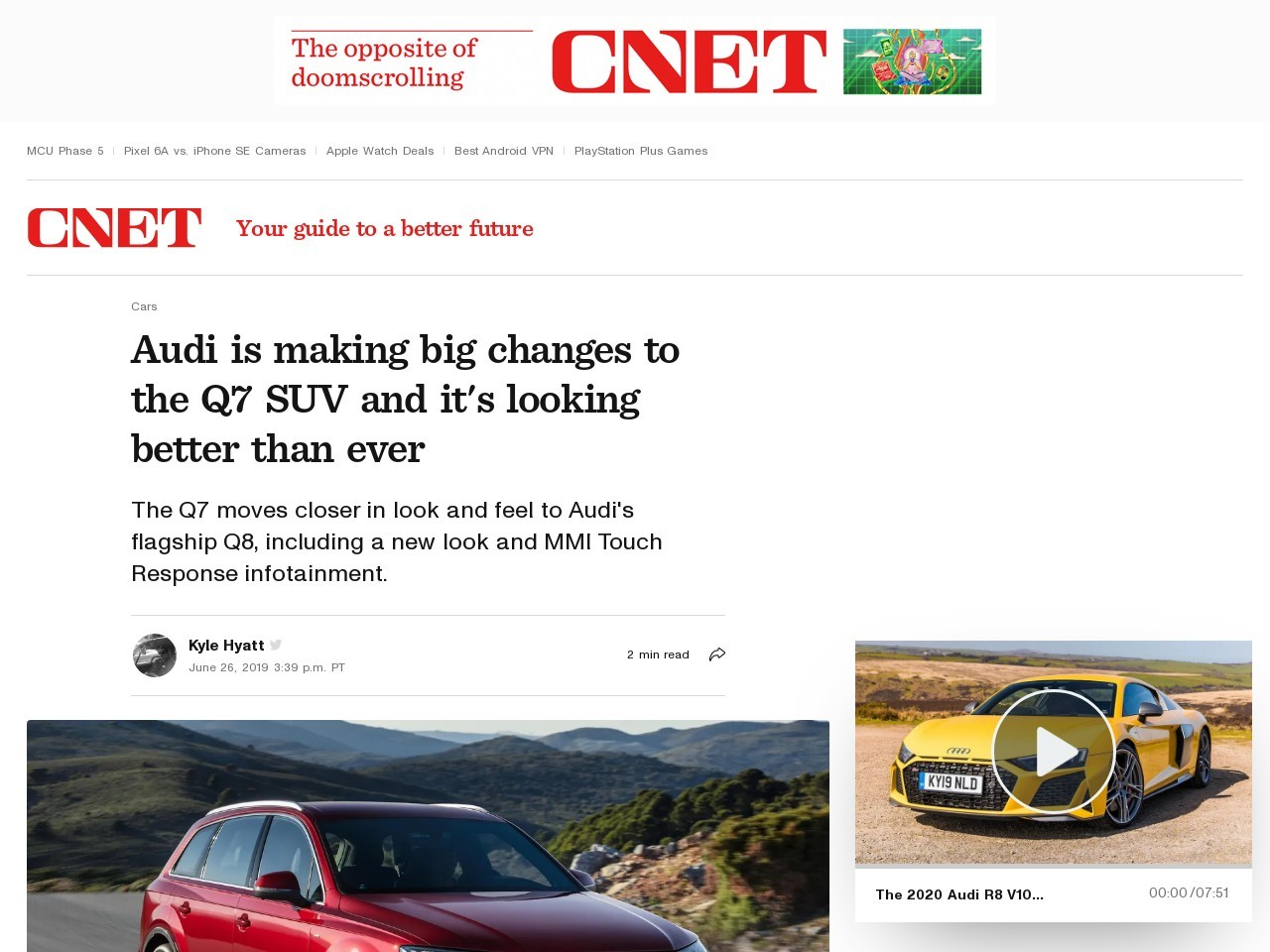 Audi is making big changes to the Q7 SUV and it's looking better than ever     – Roadshow