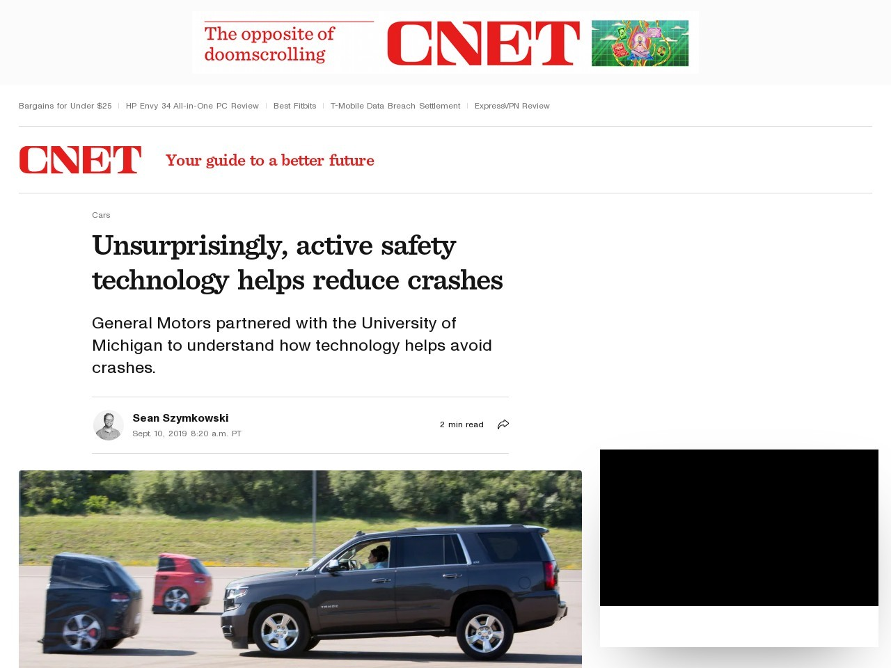 Unsurprisingly, active safety technology helps reduce crashes     – Roadshow