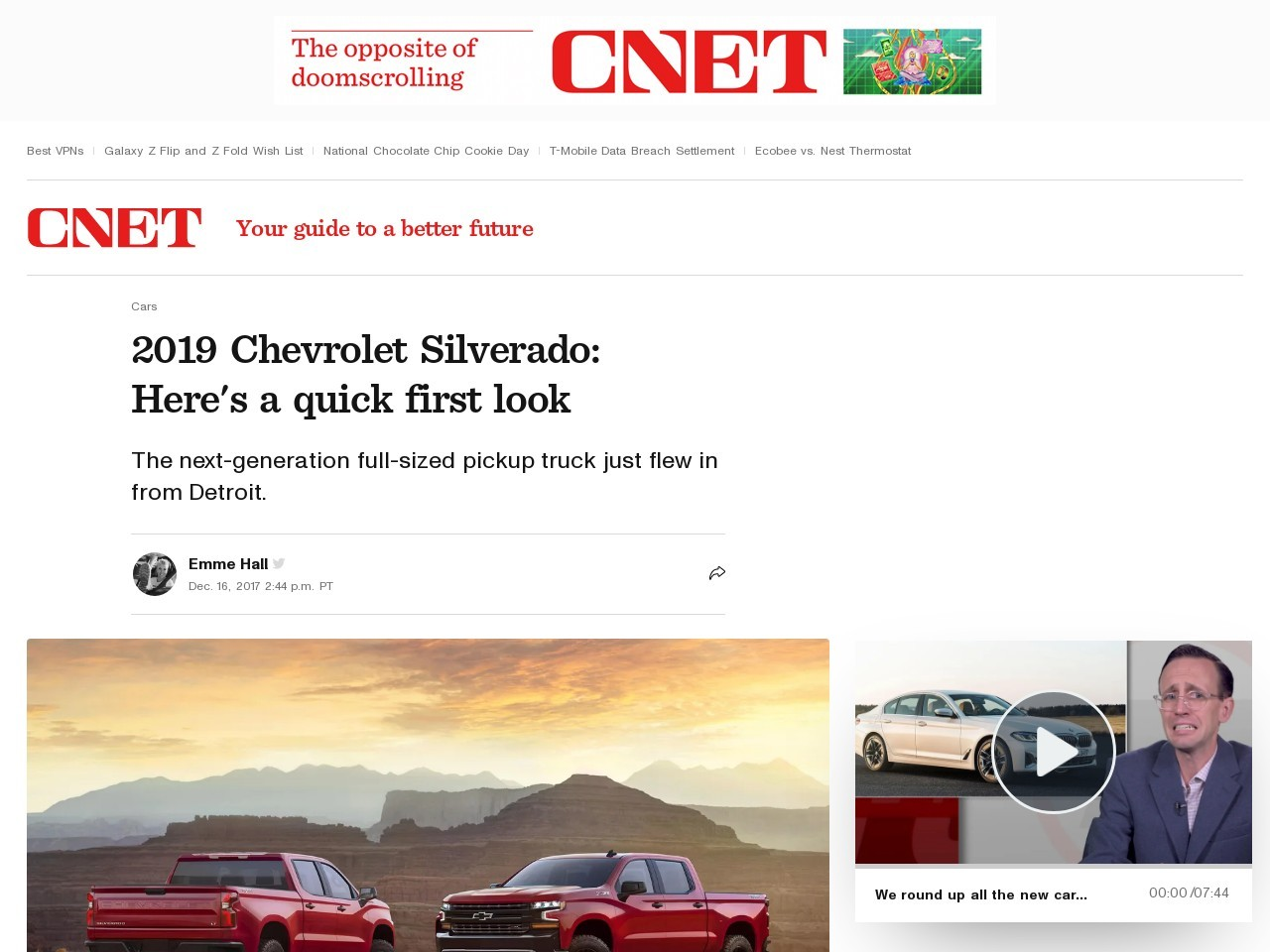 2019 Chevrolet Silverado: Here's a quick first look     – Roadshow