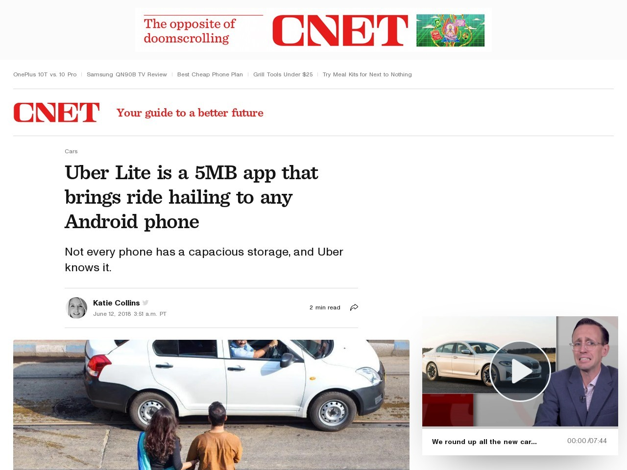 Uber Lite is a 5MB app that brings ride hailing to any Android phone     – Roadshow