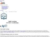 ICAgile | Agile Coaching | ICP ACC Certification certified professional | Agile Coaching